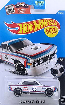 '73 BMW 3.0 CSL #68 Race Car • HW BMW - 2016 / STREET POWER • #HW-DHP29