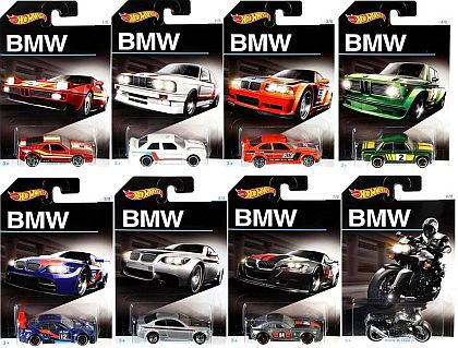 BMW 100th Anniversary • Complete set of 8 • #HW-DJM79