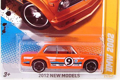 BMW 2002 #9 • 2012 NEW MODELS • #HW-V5309