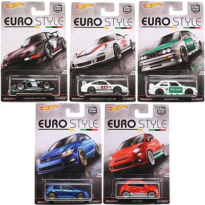 EURO STYLE • Car Culture / Hot Wheels • #HW-DJF77-B