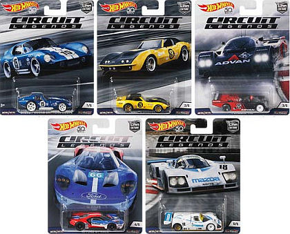 CIRCUIT LEGENDS • Car Culture / Hot Wheels • #HW-FPY86-E
