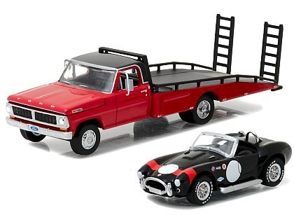 Ford F-350 Ramp Truck with Shelby Cobra • #GL33080-B