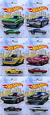 HW Detroit Muscle • Complete set of 6 • #HW-GDG44