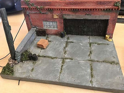 Old Shop Diorama • My Old Garage • #AD38430