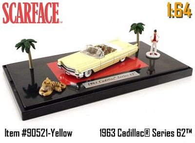 Item #JT90521-1 SCARFACE Diorama with Cadillac