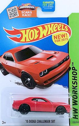 2015 Dodge Challenger SRT Hellcat • HW WORKSHOP • #HW-CFH12