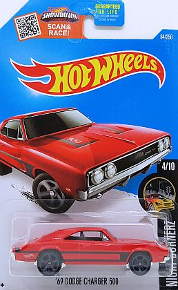 1969 Dodge Charger 500 • HW NIGHT BURNERZ • #HW-DHR04
