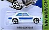 1970 Ford Escort RS1600 • White-Blue • Hot Wheels • #HW-CFL30