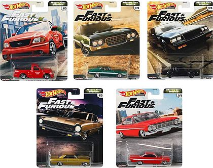 Hot Wheels Premium • Motor City Muscle • Fast&Furious • #HW-GBW75-G • www.corvette-plus.ch