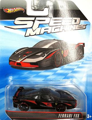 Ferrari FXX • Hot Wheels SPEED MACHINES • #HW-W2318