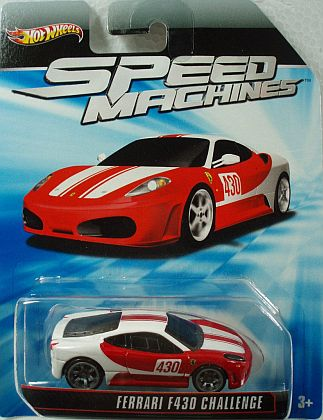 Ferrari F430 Challenge • Hot Wheels SPEED MACHINES • #HW-W2321