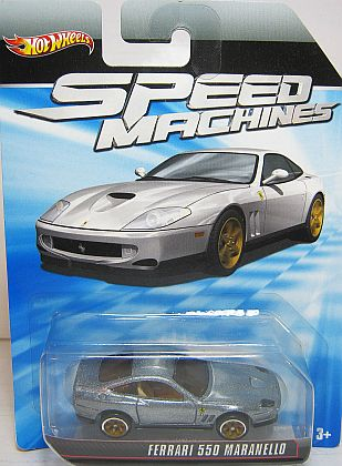 Ferrari 550 Maranello • Hot Wheels SPEED MACHINES • #HW-W2322