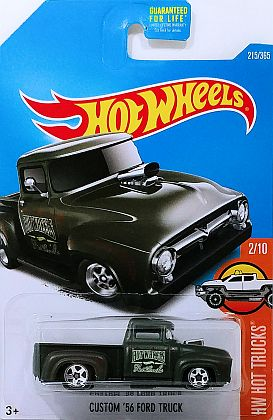 Custom '56 Ford Truck • with Rust patina • Hot Wheels • #HW-DVB67