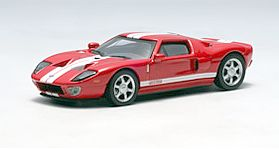 2004 Ford GT Mark IV Red with White stripes • #AA20351