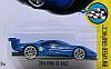2016 Blue FORD GT #16 • HW SPEED GRAPHICS • #HW-DTW92