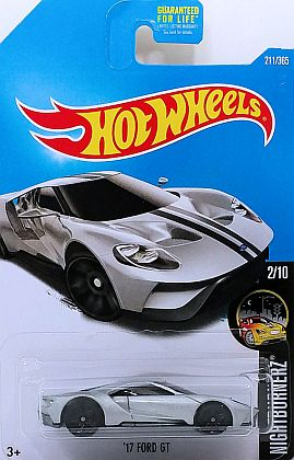 2017 Silver FORD GT • NIGHTBURNERZ • #HW-DTY76