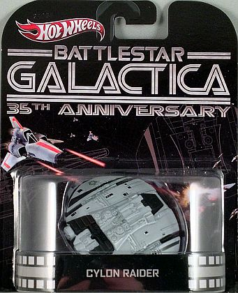 Cylon Raider • Battelstar Galactica • HW Retro Entertainment • #HW-X8899