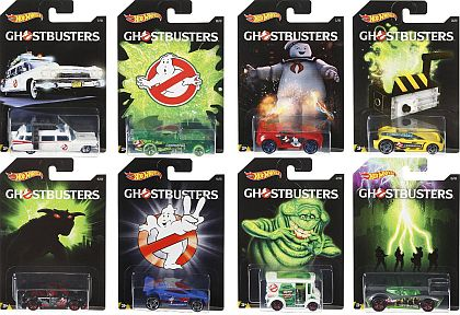 GHOSTBUSTERS Set of 8 • #HW-DWD94