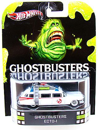 GHOSTBUSTERS • ECTO-1 • HW Retro Entertainment • #HW-X8919