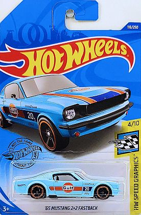 Gulf '65 Mustang 2+2 Fastback #20 • #HW-GHC86 • www.corvette-plus.ch