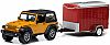 Hitch & Tow • Jeep Wrangler with Small Cargo Trailer • #GL32010-C