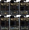 Hot Wheels 50th Anniversary Collection • Black/gold • 6-Piece set • #HW-FRN33-6