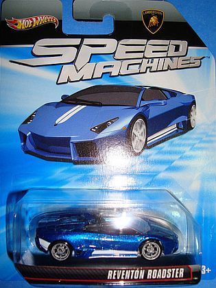 Lamborghini Reventon Roadster • Hot Wheels SPEED MACHINES • #HW-W2309