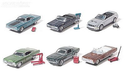 MuscleCarGarage Hobby Collection Series 1, Item #GL28610