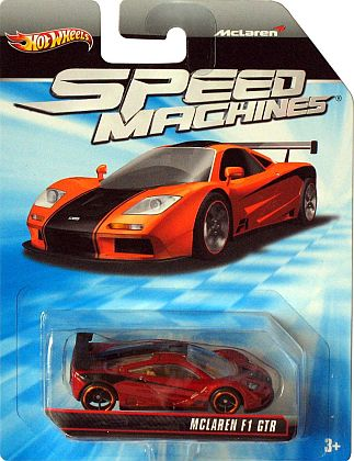 McLaren F1 GTR • Hot Wheels SPEED MACHINES • #HW-W2311