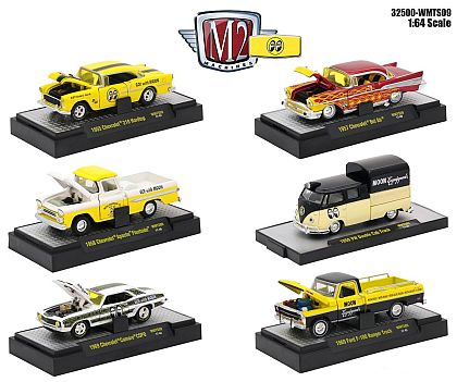 M2Machines MOONEYES • Walmart exclusive • #M2-WMTS09