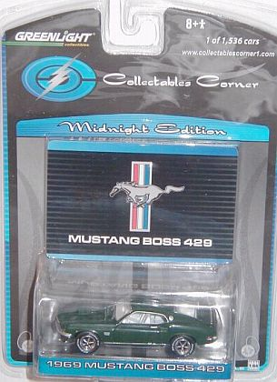 1969 Mustang Boss 429 - Midnight Edition - Item #GL50666