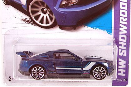 2012 Ford Mustang • Hot Wheels SHOWROOM • HW#X1743