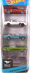 50 Years Ford Mustang • Hot Wheels 5-Pack • #HW-BFB29