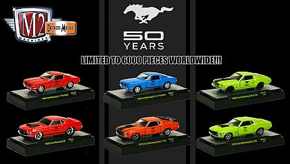Ford Mustang 50 Years • WalMart exclusive • #M2-MTS01