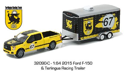 Hitch & Tow • Ford F-150 with Enclosed Terlingua Racing Trailer • #GL32090-C