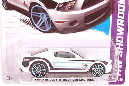 '10 Ford Shelby GT500 Super Snake • Hot Wheels SHOWROOM • HW#X1954