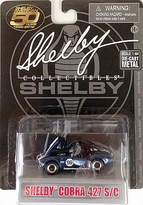 Shelby Cobra 427 S/C #96 • Blue-White • #SC173696B