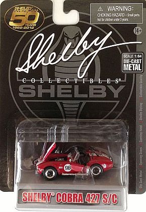 Shelby Cobra 427 S/C #96 • Red-White • #SC173696R