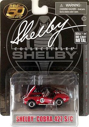 Shelby Cobra 427 S/C #97 • Red-White • #SC173697R
