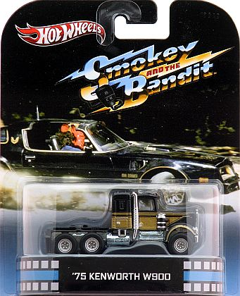 1975 Kenworth W900 • Smokey and the Bandit • HW Retro Entertainment • #HW-X8932
