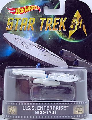U.S.S. Enterprise NCC-1701 • Star Trek 50 • HW Retro Entertainment • #HW-DJF53