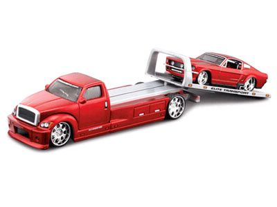 Elite Transport - Tow Truck with 1967 Ford Mustang GT - Maisto - #15055-03