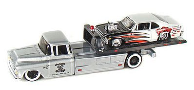 Elite Transport - Chevy Flatbed with Chevy Nova - #MAI15055-104