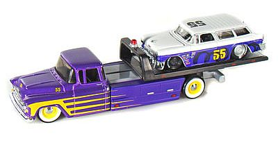 Elite Transport - Chevy Flatbed with Chevrolet Nomad #55 - #MAI15055-105
