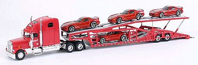 Item #SC-36561GTSR Auto-Transporter with 4 Dodge 2006 Viper GTSR loaded