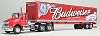 Budweiser - International 8600 Day Cab Tractor Trailer - SpecCast - #34527