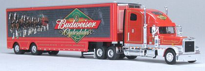 Budweiser Clydesdales - Freightliner Tractor Trailer - SpecCast - #36600