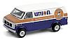 UNION76 GMC Vandura 2500 Delivery Van 1987 • #GL35180E • www.corvette-plus.ch
