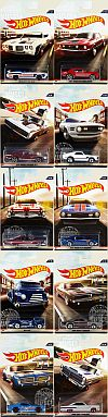 Vintage American Muscle complete set • Hot Wheels • #HW-DYT57