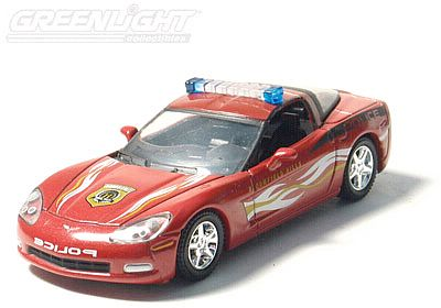 2006 Corvette Police Car - Bloomfield Hills - Item #GL18610-06P